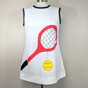 Amazing Vintage Tennis Tunic Top